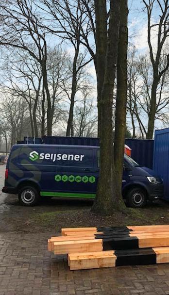 Seijsener rekreatietechniek - campingtechniek - installatietechniek - technisch ontwerp - in bedrijstelling - elektra - water - CAI - internet - Vakantiepark De Heische Tip - auto