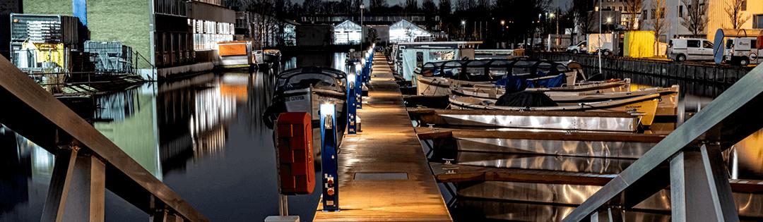 Seijsenertechniek - Duurzaam ondernemen - verlichting - haventechniek - jachthaven - zero emission - E-Harbour