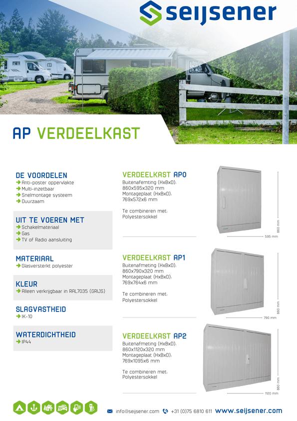 Seijsener uw technische specialist voor AP Verdeelkast - technische specificaties