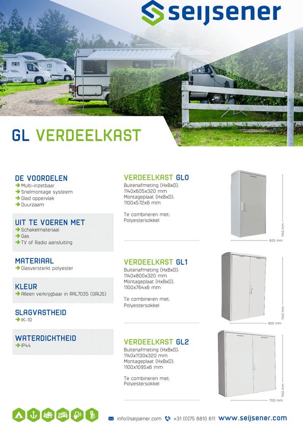 Seijsener uw technische specialist voor GL Verdeelkast - technische specificaties