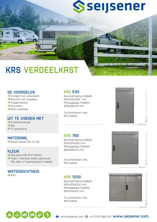 Seijsener uw technische specialist voor KRS Verdeelkast - technische specificaties