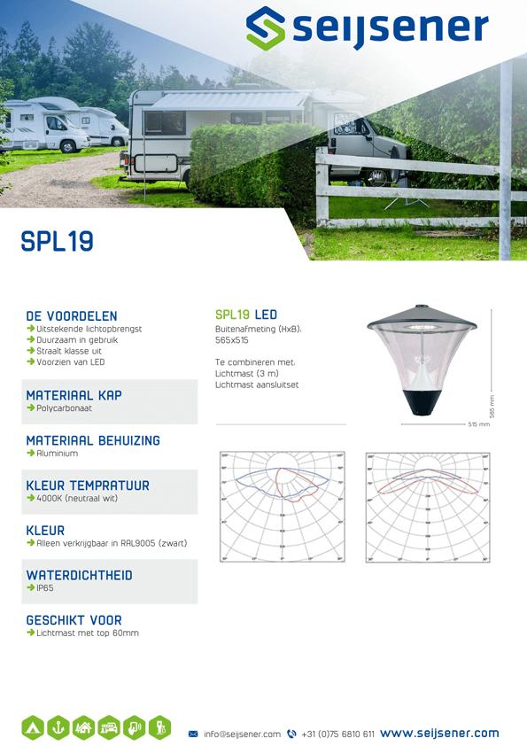 Seijsener uw technische specialist voor uw verlichtingsarmaturen - SPL 19 - technische specificaties