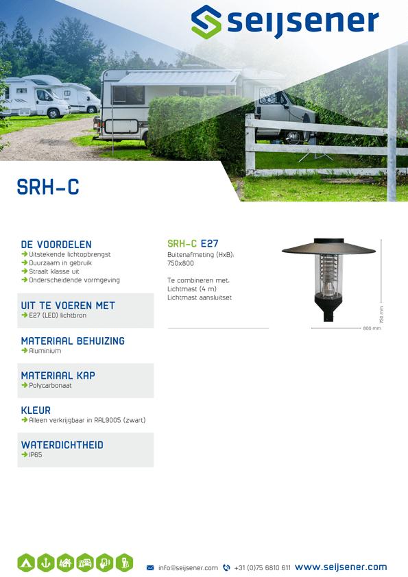 Seijsener uw technische specialist voor uw verlichtingsarmaturen - SRH-C - technische specificaties