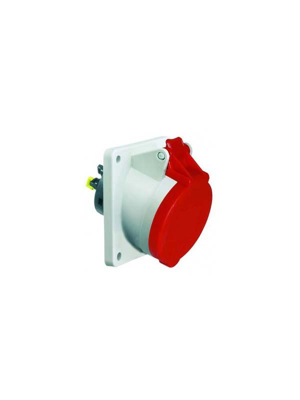 ICD 6h 32A 5P 400V IP44 85x85 QC Sch