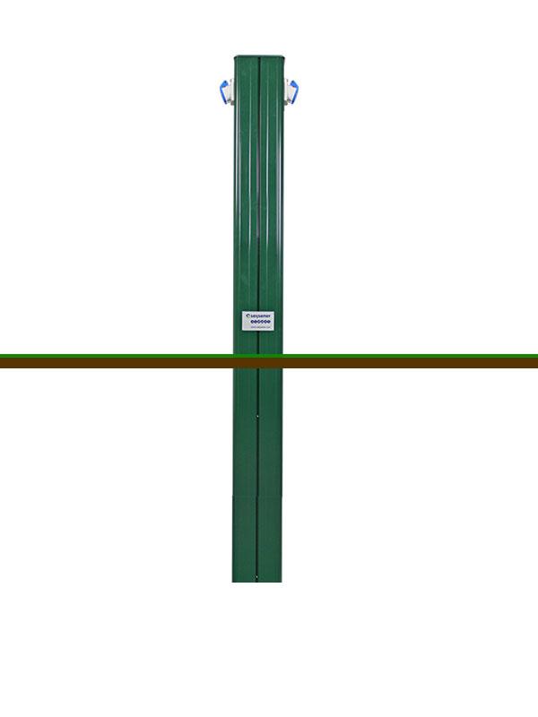 ARC 2CEE 16A 1500mm + grondstuk Groen RAL6005