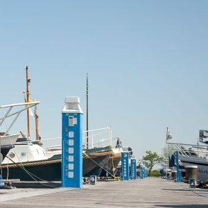 ATL 4CEE 16A 1200mm voetplaat Kroon Blauw RAL5012