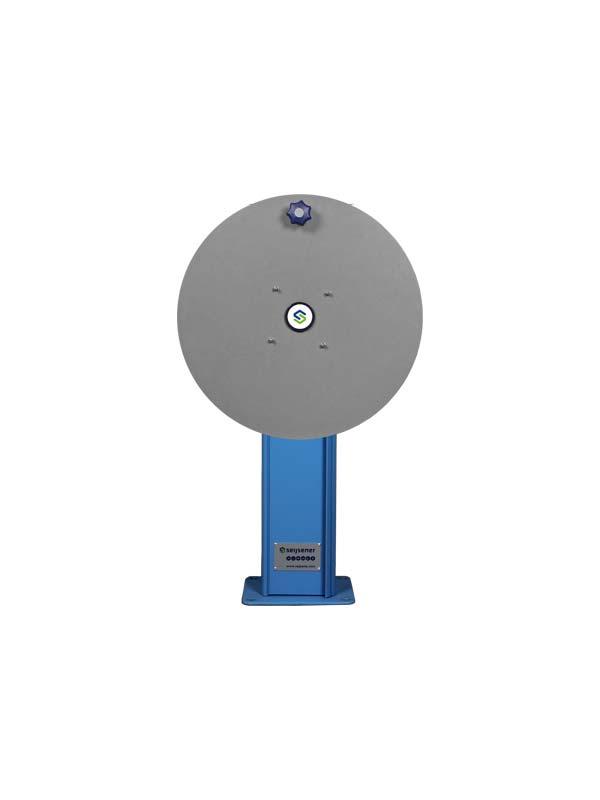 DWT 850mm + voetplaat DB slangh. ø480mm Blauw