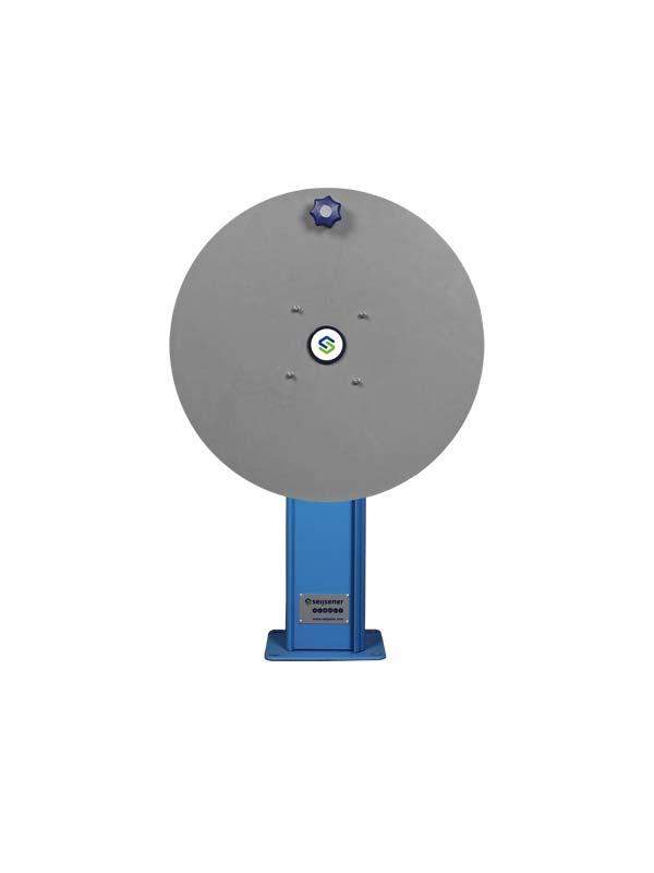 DWT 850mm + voetplaat DB slangh. ø600mm Blauw