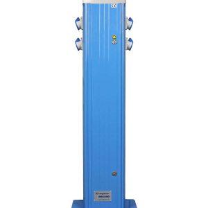 PAC 4CEE 16A 1200mm voetplaat Blauw RAL5012