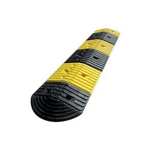 Seijsener-verkeersdrempel-geel-zwart-2m