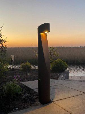 Seijsener-Kunststof-verlichtingzuil-rond--locatie