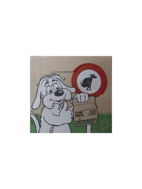 Opruimzak voor hondehoopjes/240 zakjes