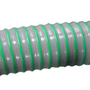 PVC Z/P Slang inw.38mm groen oliebestendig