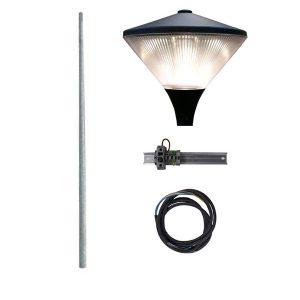 IK25 compleet 3m. incl. lichtmast