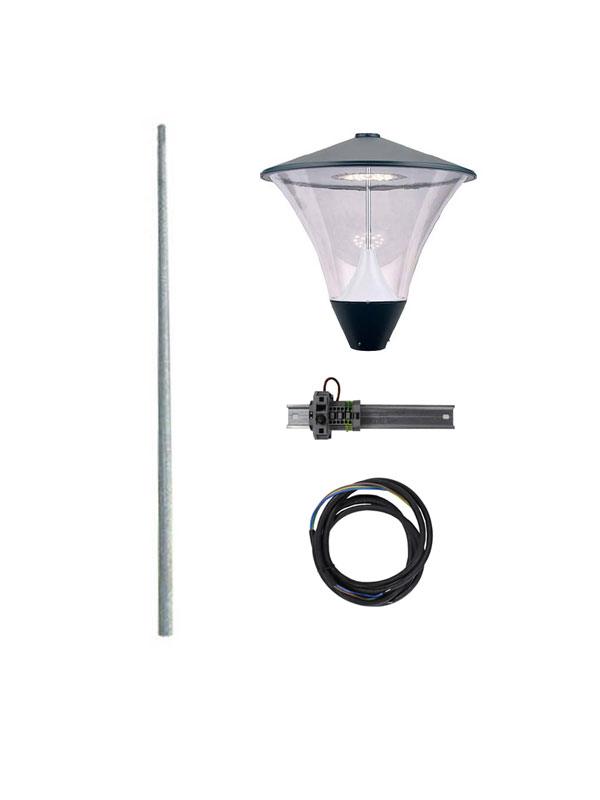 SPL19 compleet 3m. incl. lichtmast
