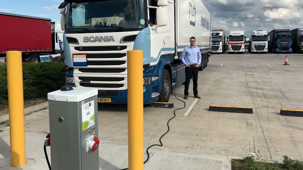 Seijsener Techniek TruckPower Charging Point