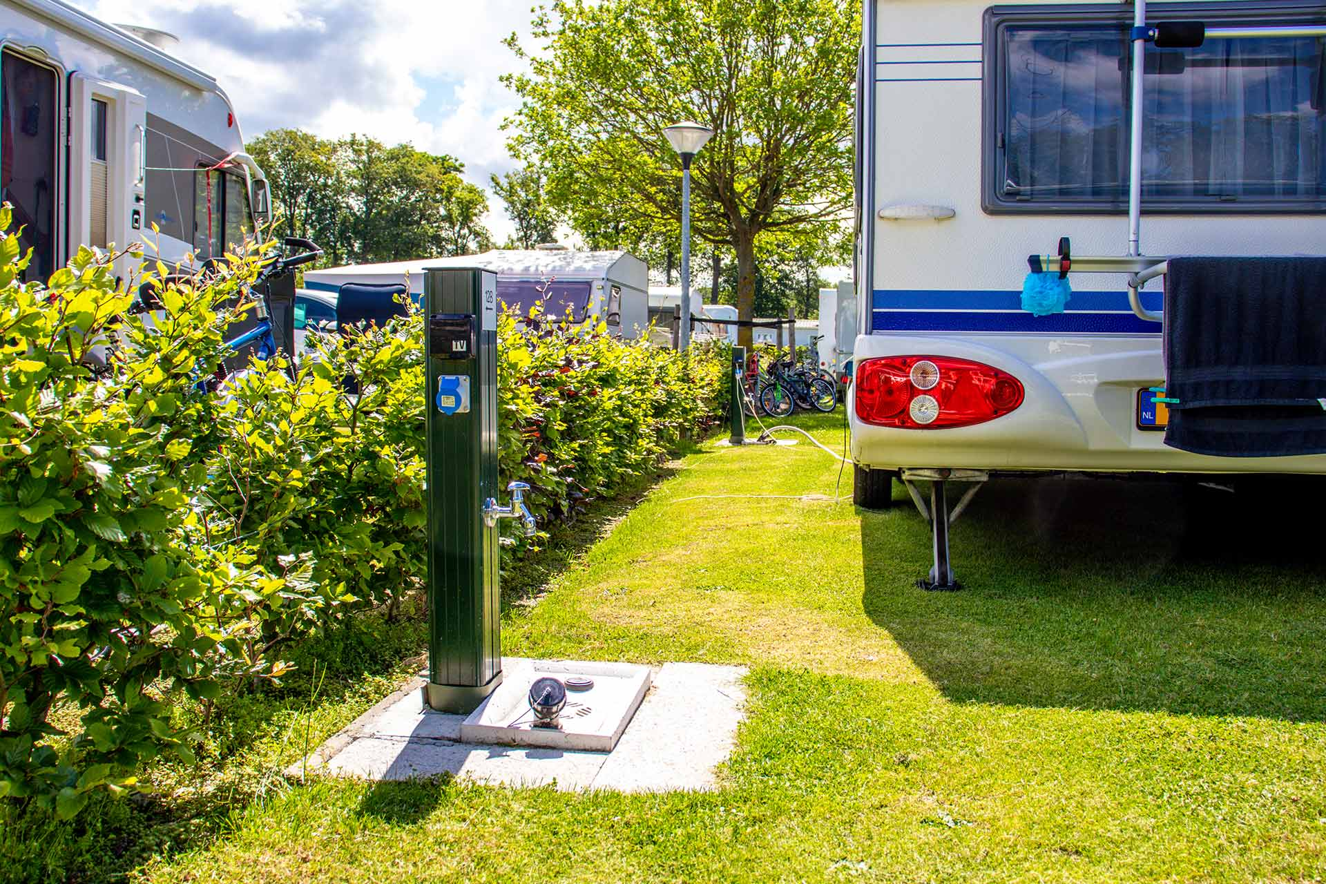 Seijsener Leisure services caravan hook ups