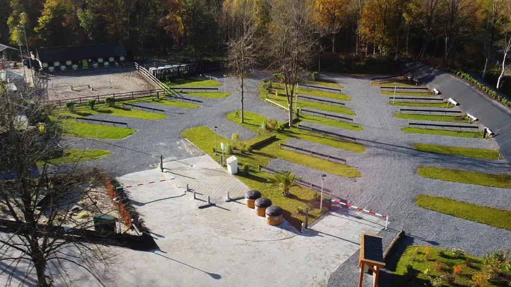 Seijsener Techniek volledig geautomatiseerde camperplaatsen aanleggen Vakantiepark 't Urkerbos