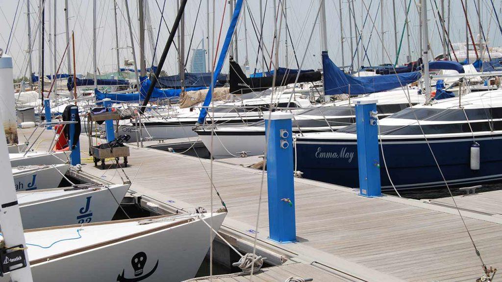 Seijsener marina services products marina pedestal pacific port of Dubai