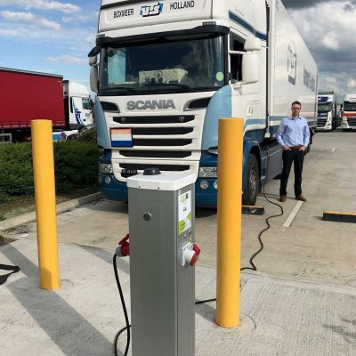 Seijsener Nomadpower truckpower Electric supply for reefers